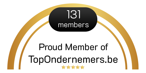Proud Member of TopOndernemers.be